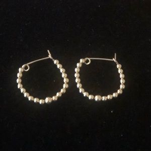 Gold earrings (small)